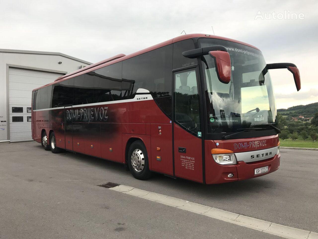 τουριστικό λεωφορείο SETRA S 417 GT-HD